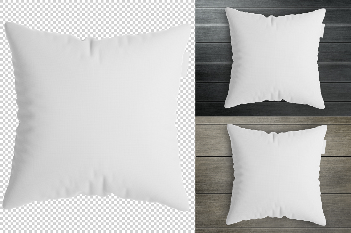 Square pillow mockup. Product mockup. example image 5