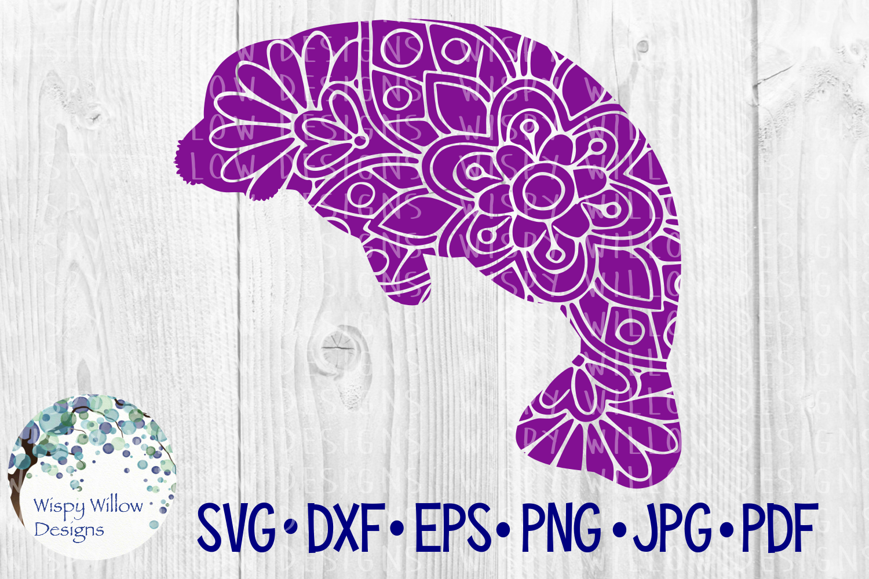 62 File Mega Floral Mandala Animal/Figure SVG Bundle example image 19