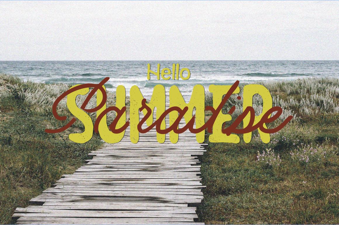 Summer  3 Font Bundles example image 9