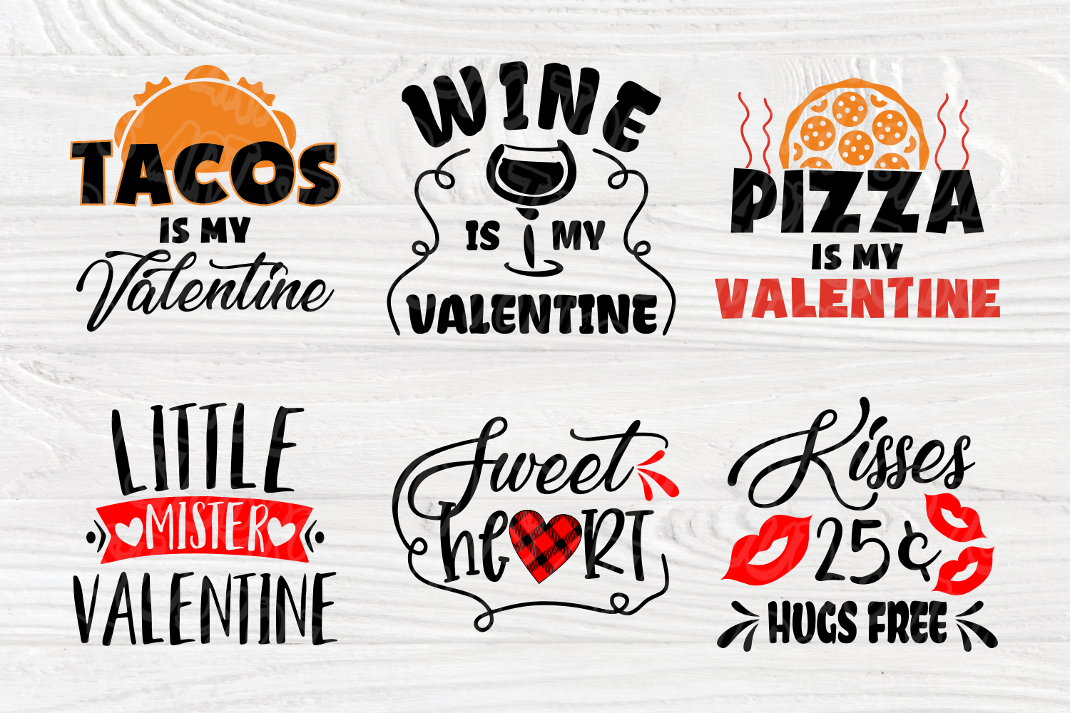 Valentine's Bundle SVG | Cut Files for Crafters | Kids SVG example image 3