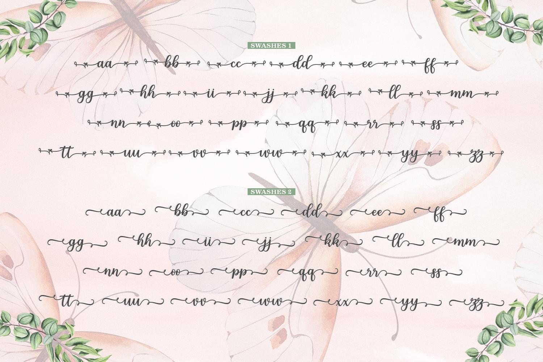 Melda Script | Modern calligraphy example image 14