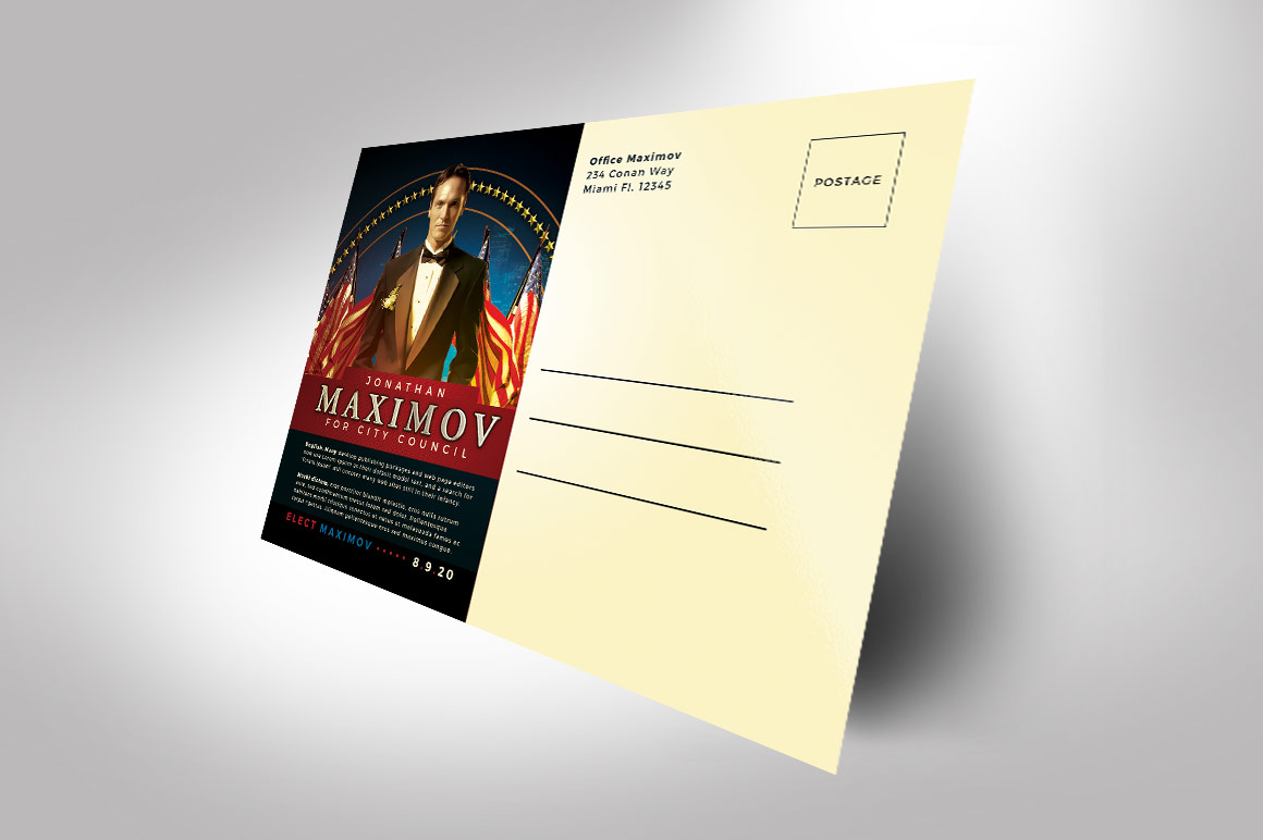 Political Flyer Photoshop Template 2 example image 3