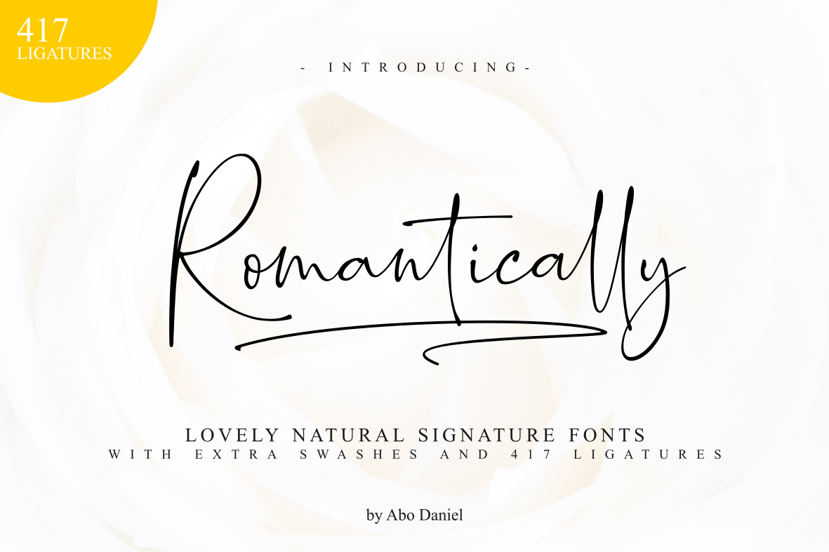 Romantically - Lovely Signature - example image 1