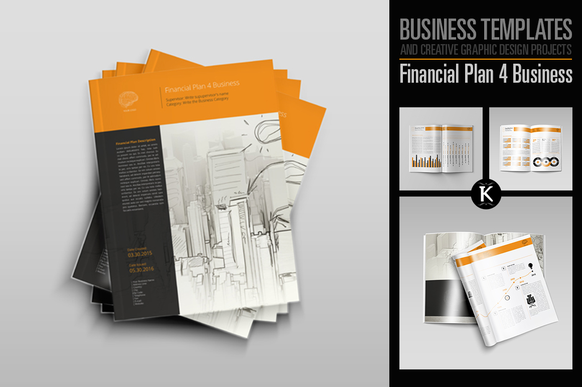 Financial Plan 4 Business example image 1