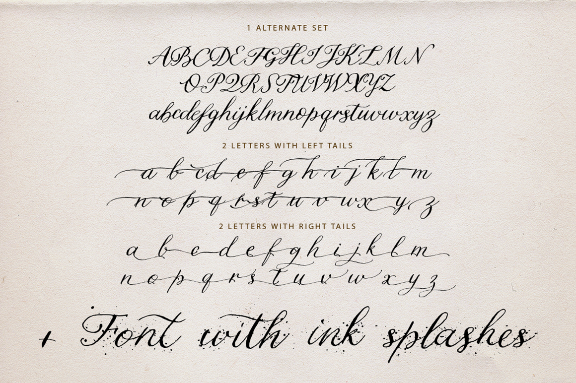 Letter Home. Font Trio Graphics. example image 16
