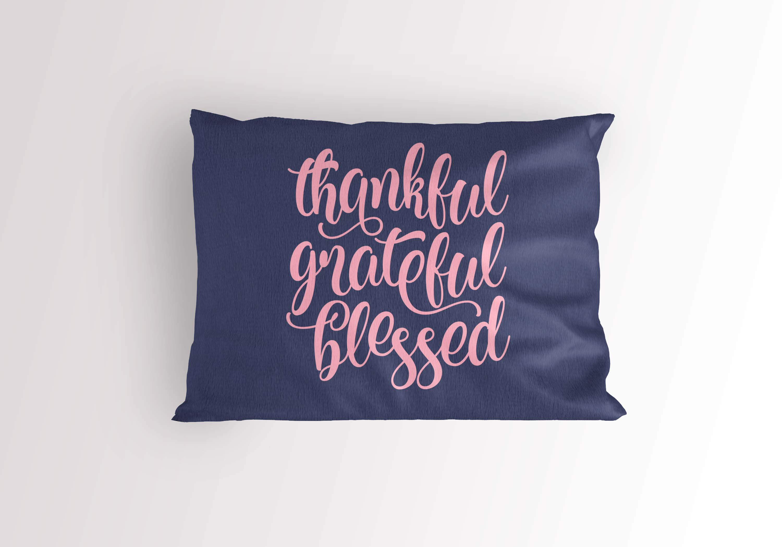 Thankful Grateful Blessed SVG PNG EPS DXF example image 3
