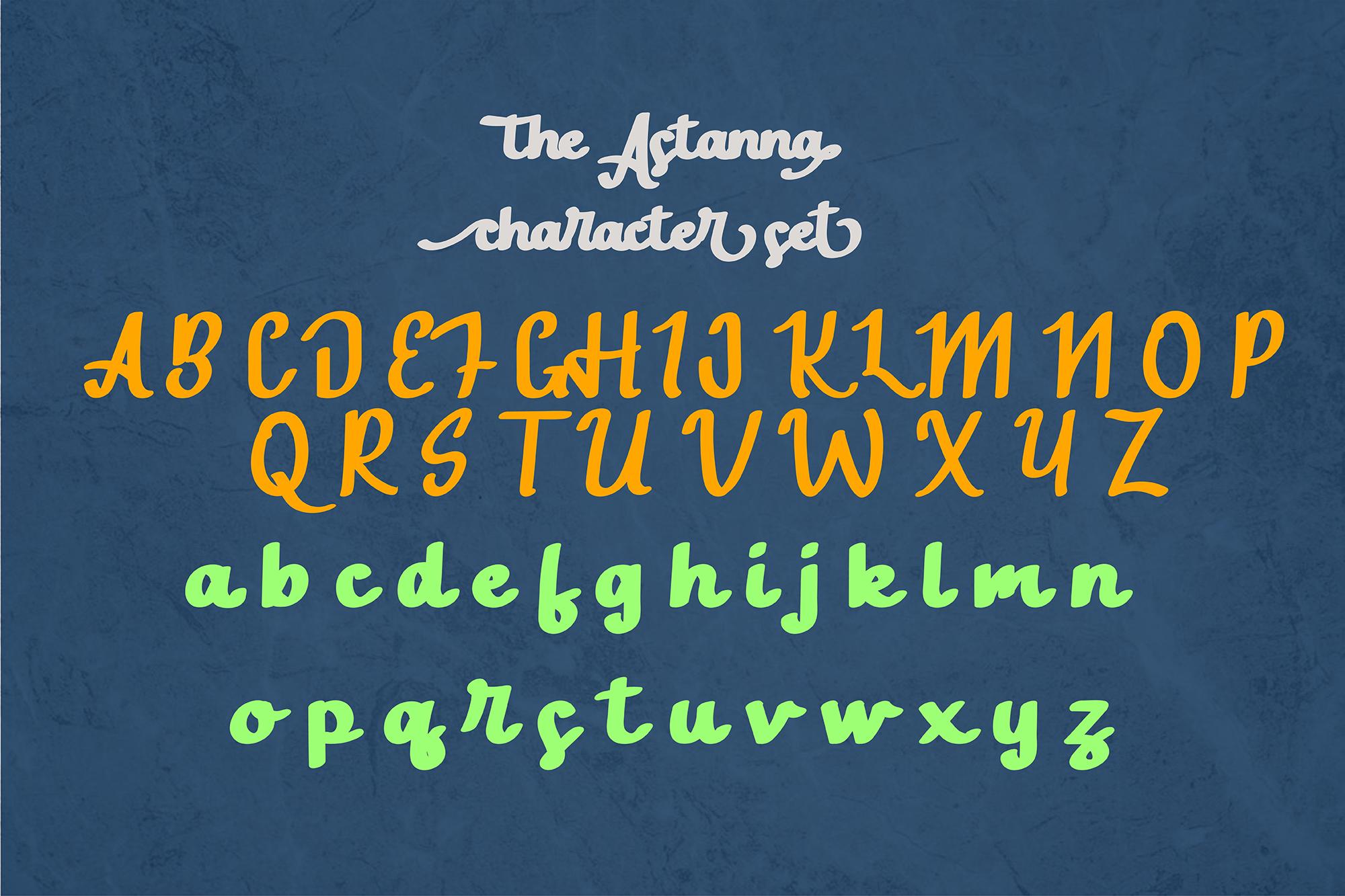 The Astanna Script example image 5