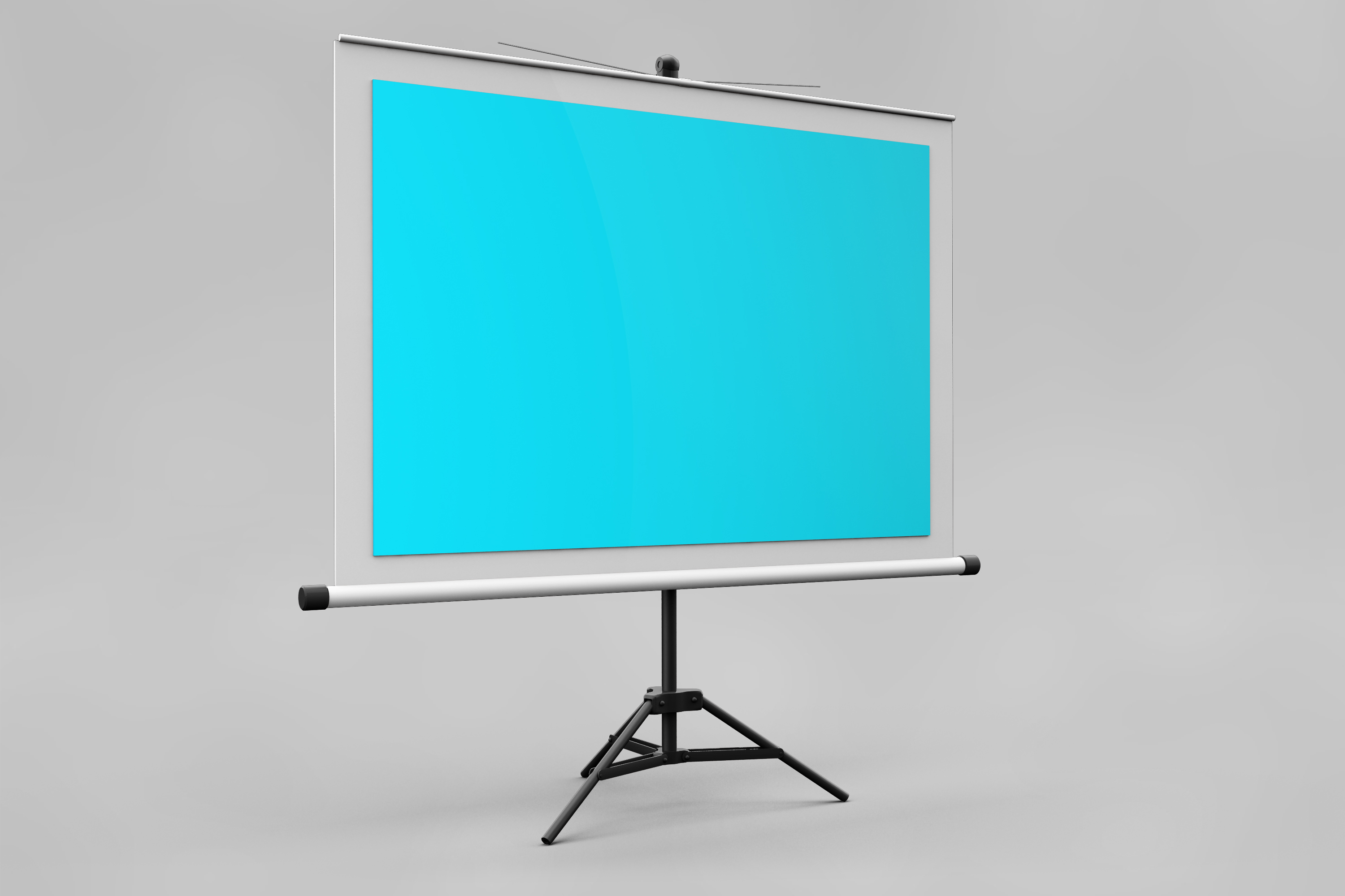 Projector Screen MockUp example image 5