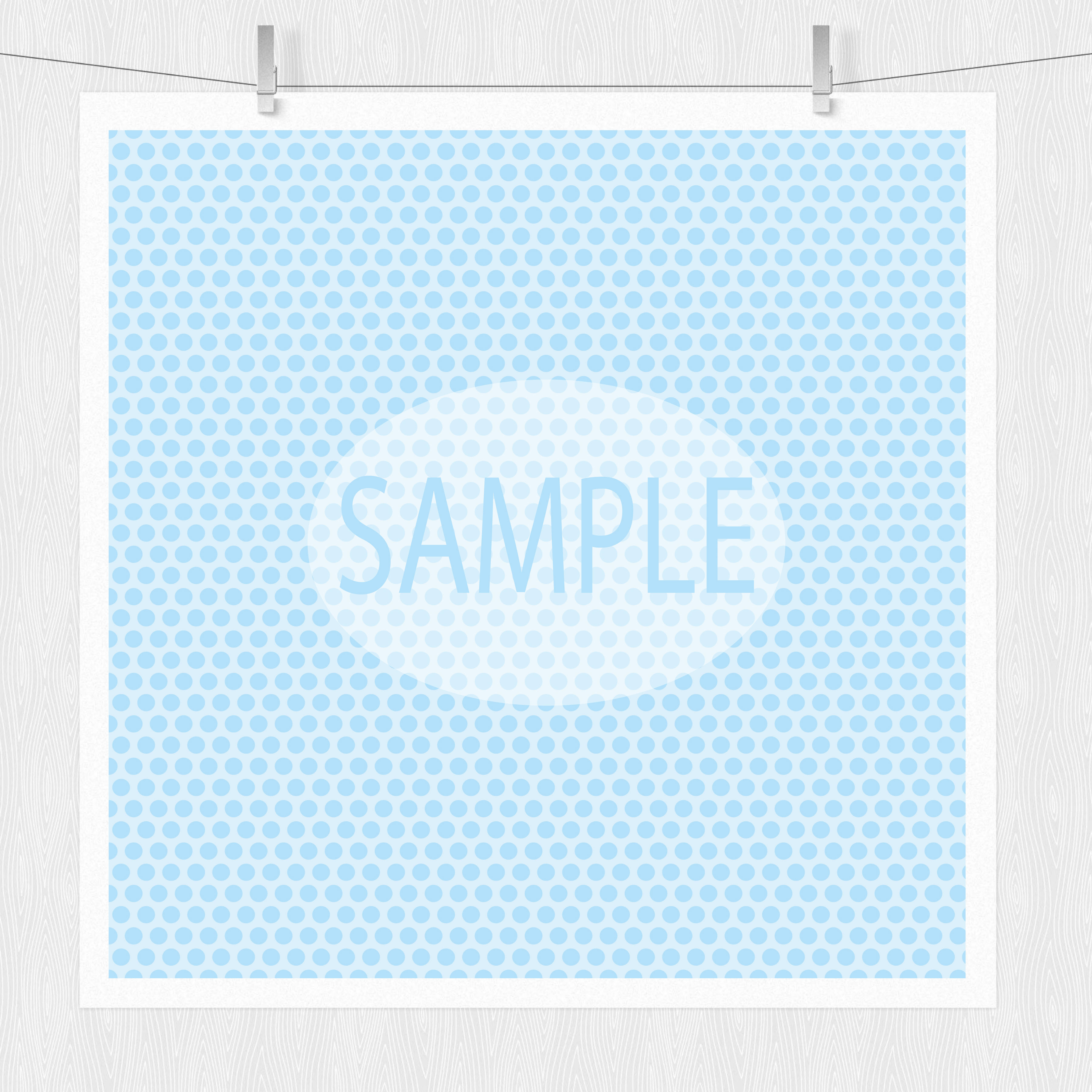 Baby Boy Pastel Blue Digital Paper example image 3