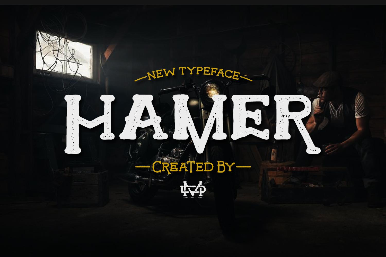 Hamer Typeface example image 1