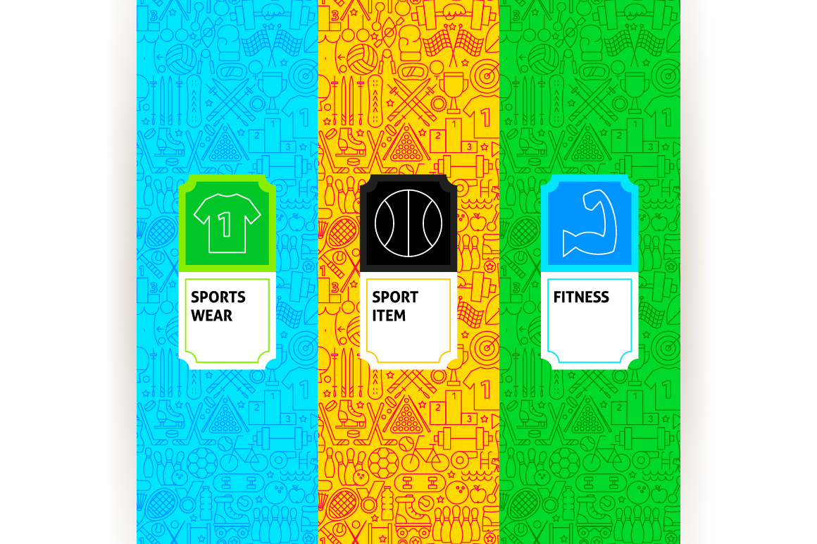 Sport Line Tile Pattern example image 2