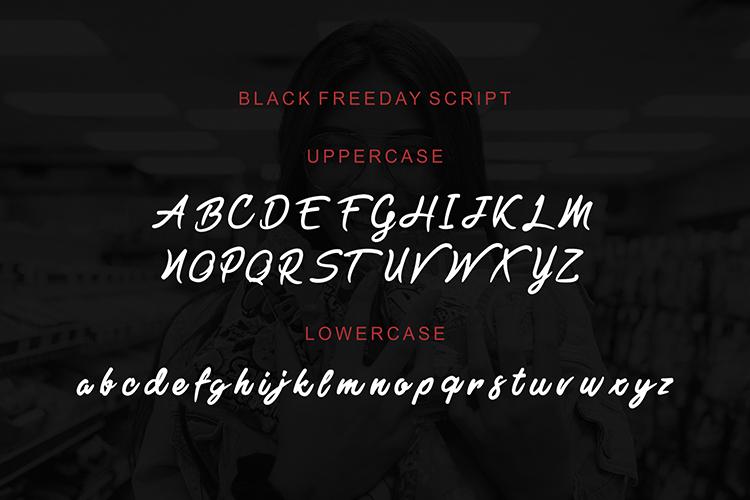 Black Freeday - powerfull font duo example image 5