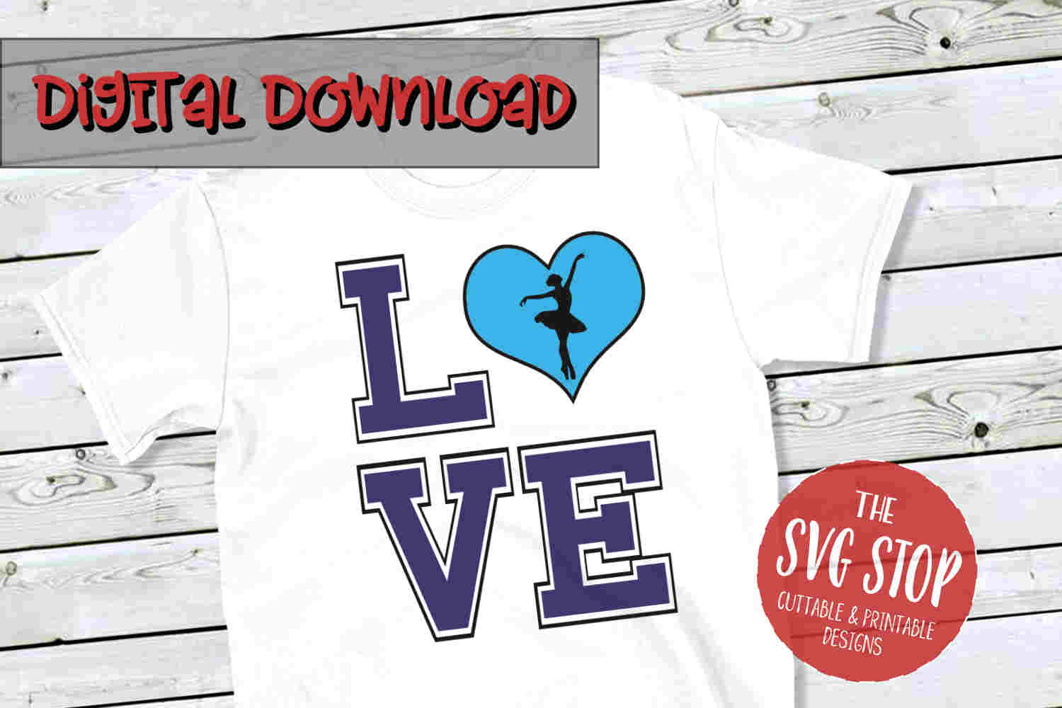 Love Dance 3-SVG, PNG, DXF example image 1