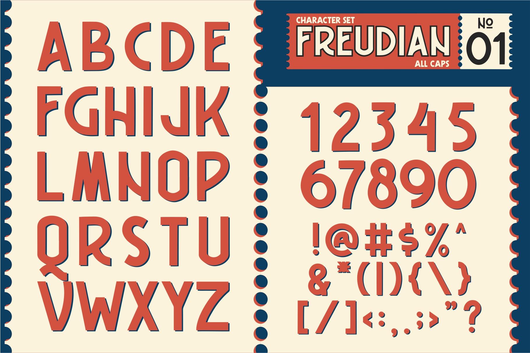 FREUDIAN TYPEFACE example image 3