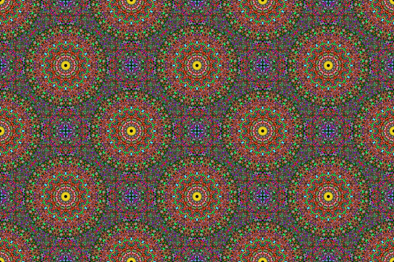 48 Seamless Floral Mandala Patterns example image 25