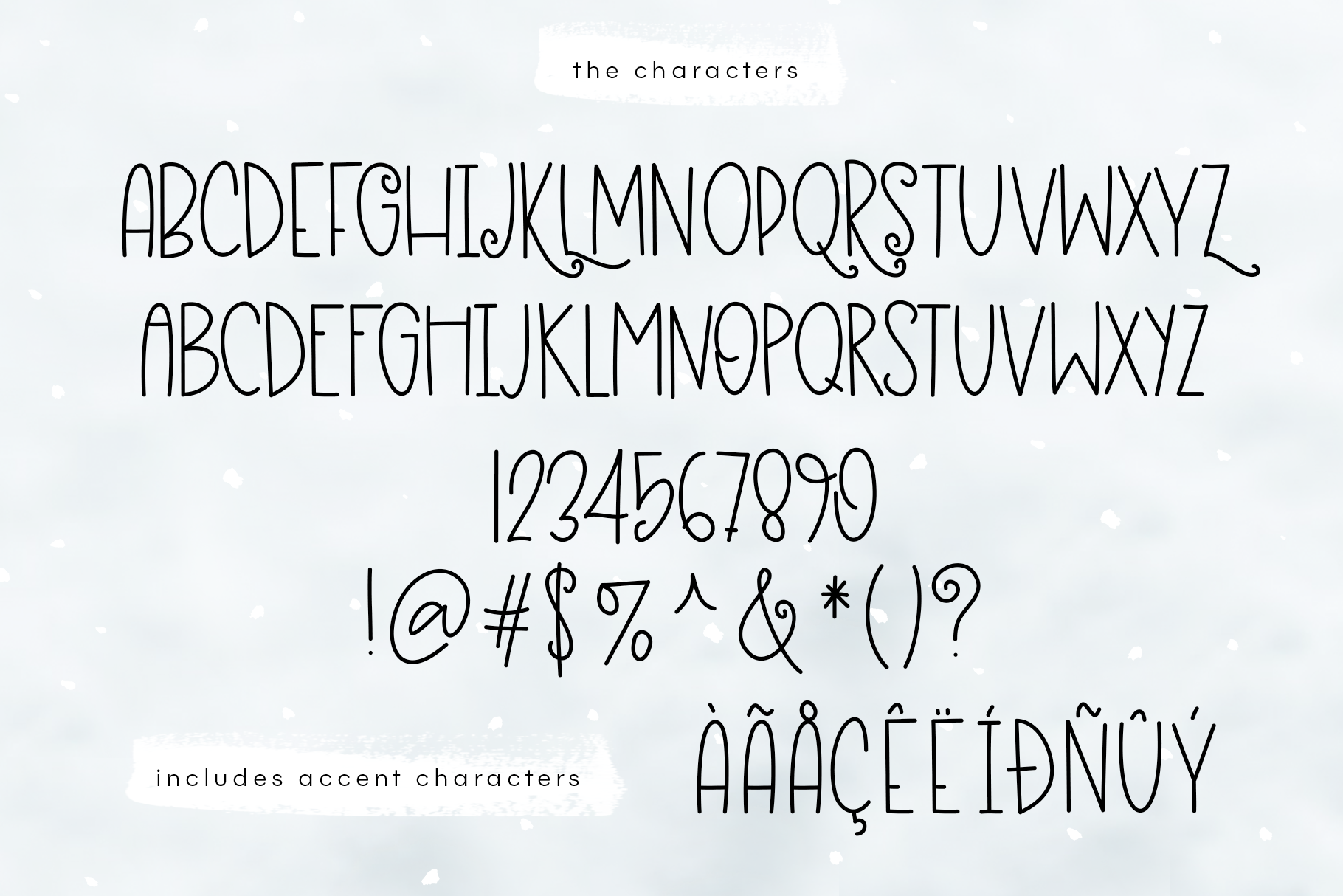 Eskimo Igloo - A Fun & Quirky Font example image 7