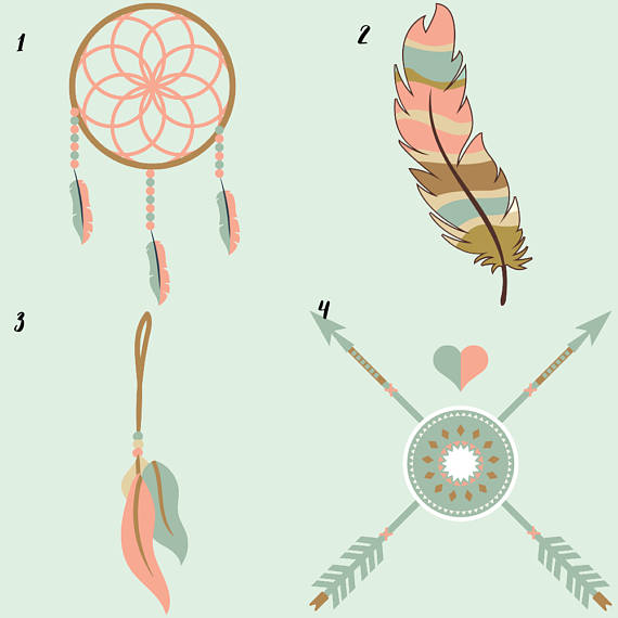 Tribal Clipart example image 2