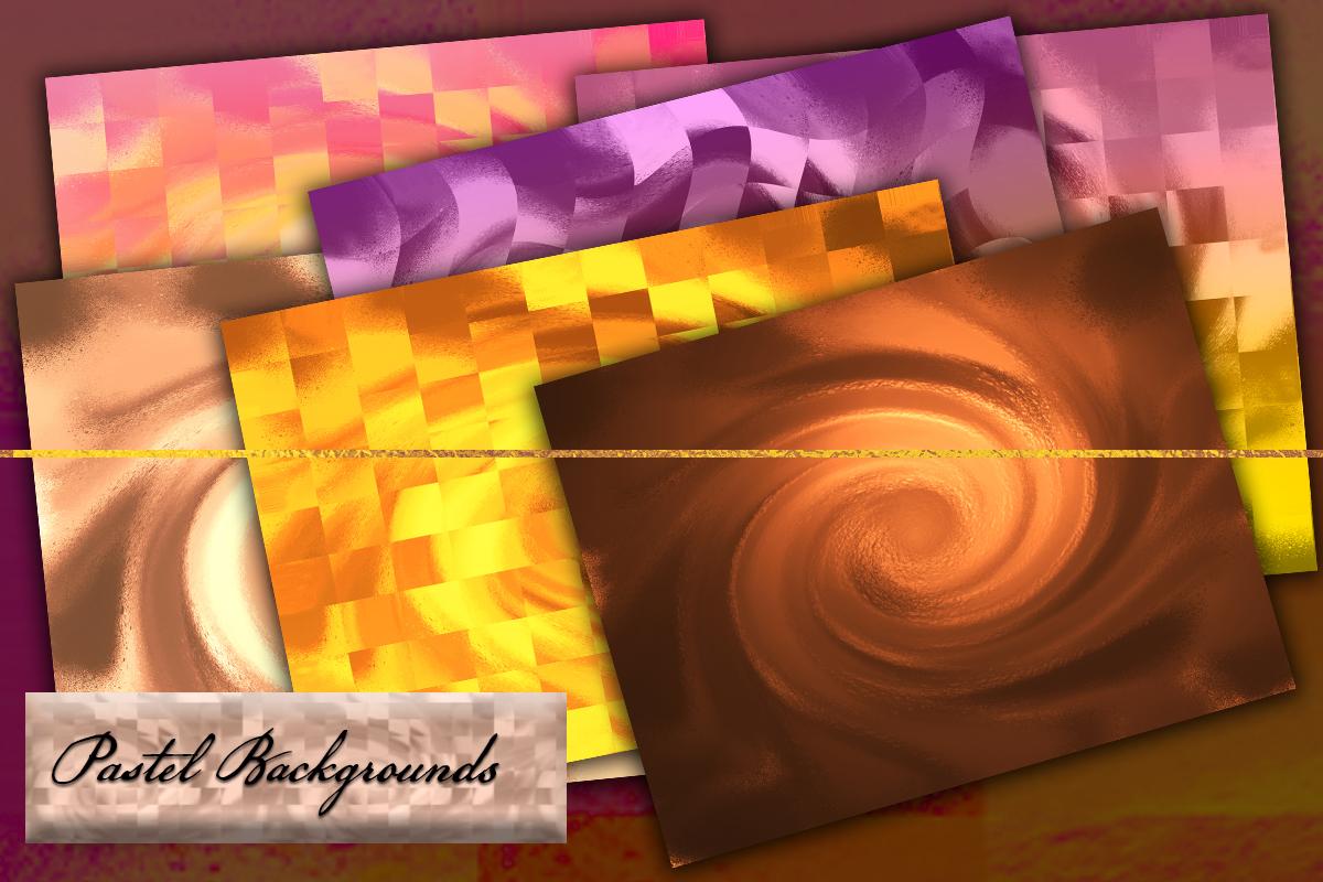 6 Color Splash backdrops. Luxury color splats artworks. example image 2