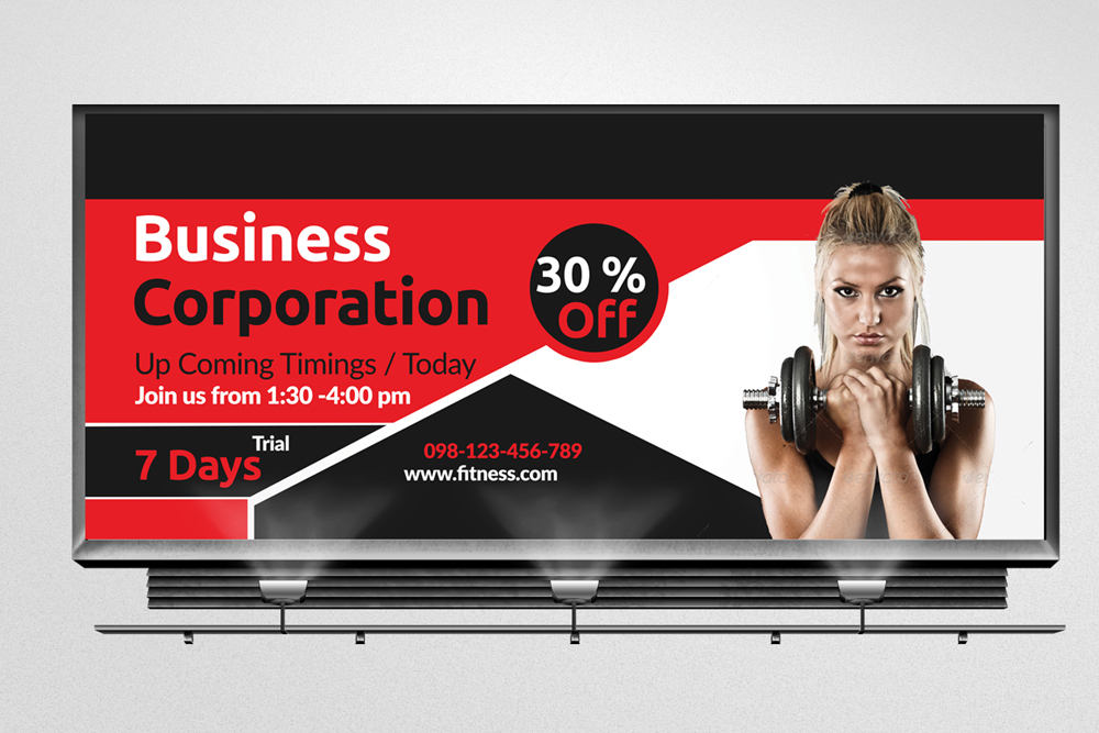 Multi Use Business Billboard Banners example image 3