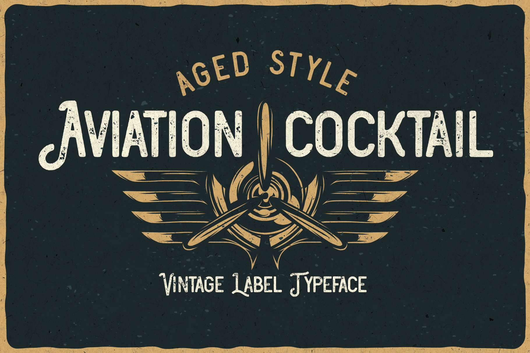 Aviation Cocktail Font plus BONUS example image 5