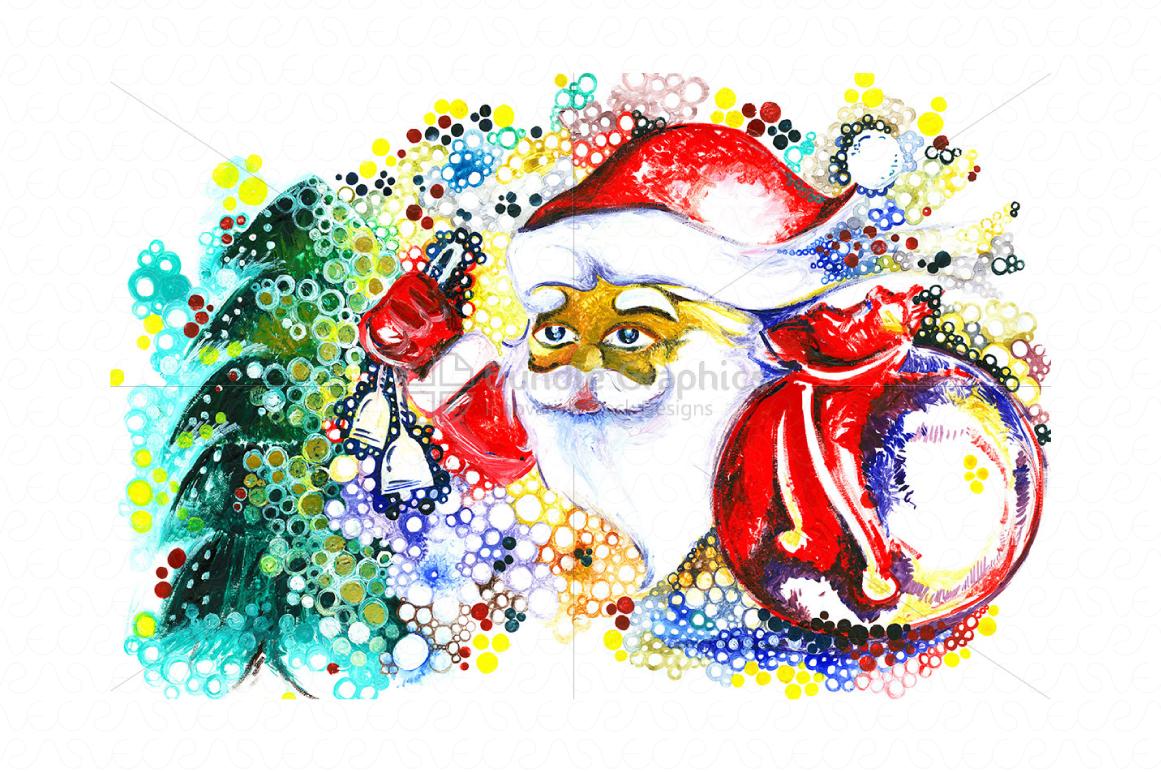 Christmas & New Year Bundle of Ornamental Mockups & Graphics example image 6