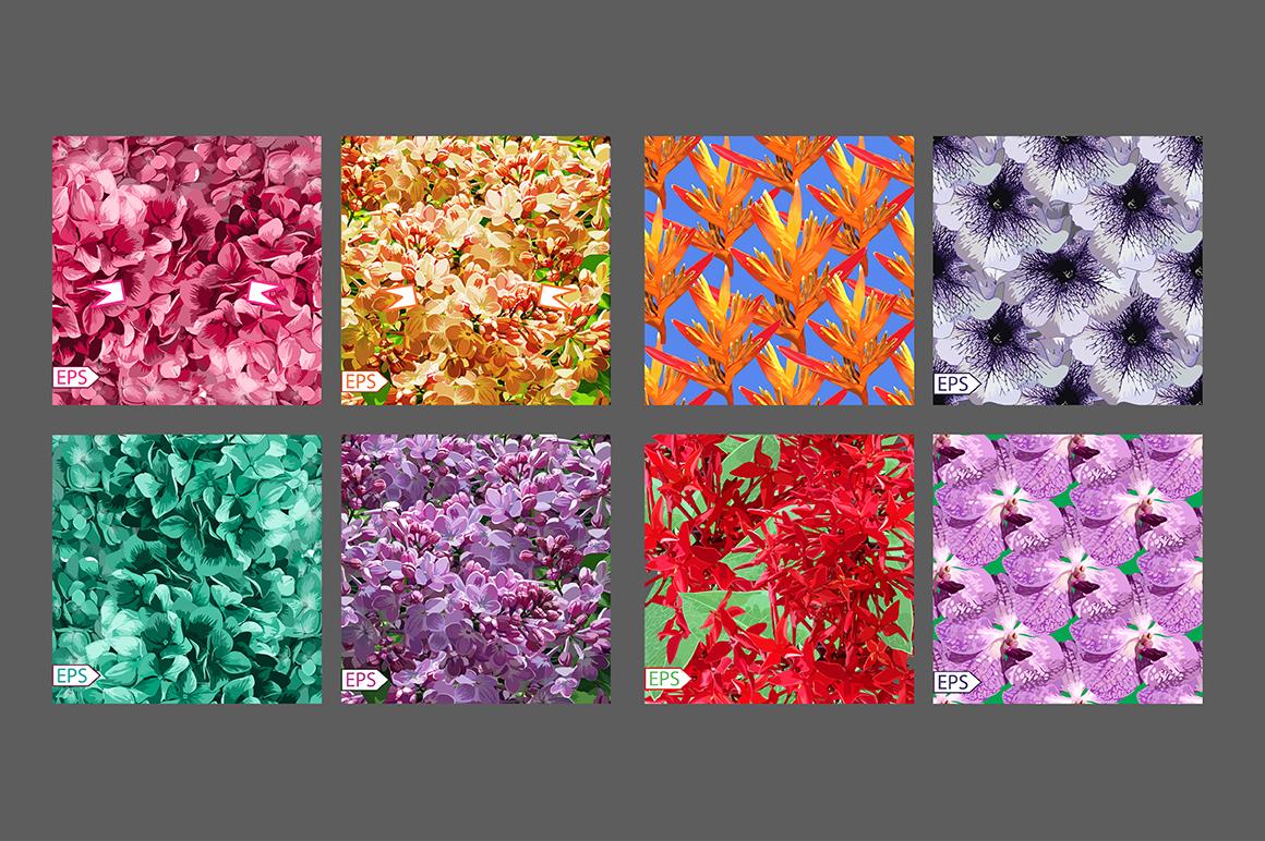 32 Realistic flowers bundle. example image 4