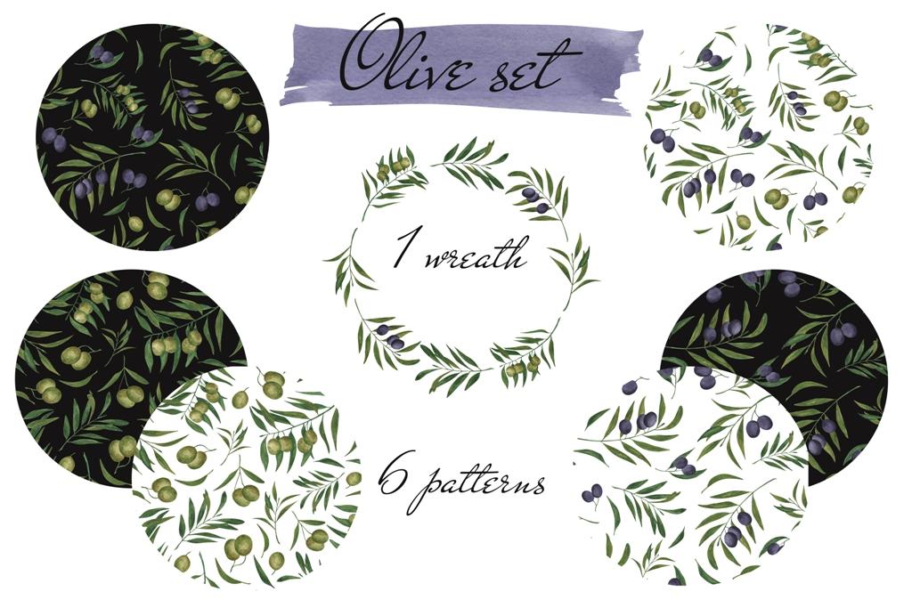 Olive set example image 2