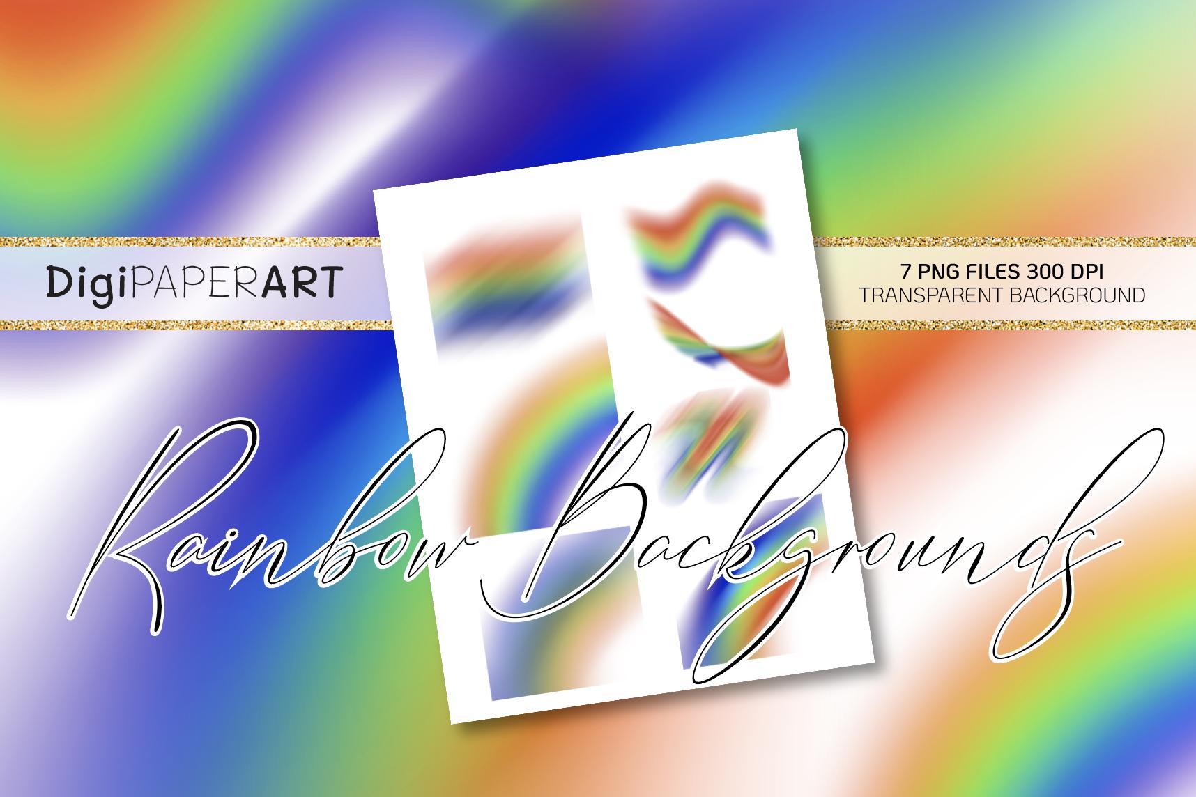 Rainbow PNG, Rainbow Clipart, Rainbow Overlays example image 1
