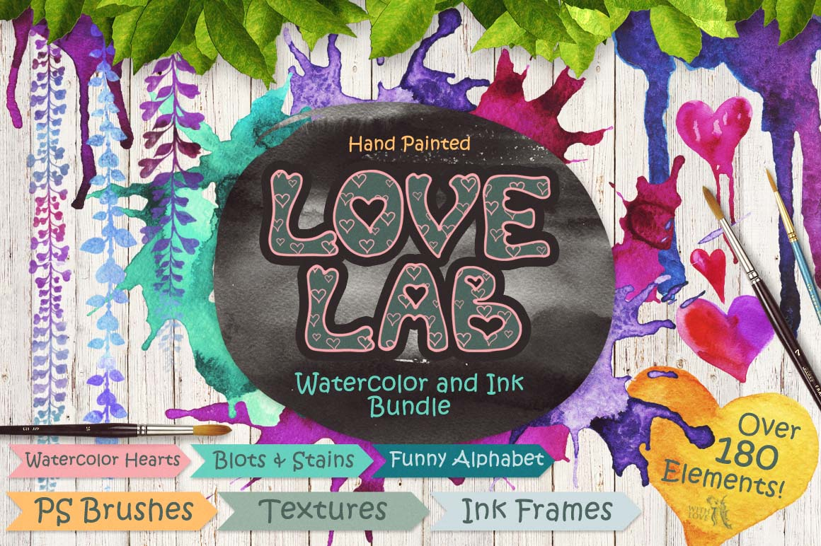 Love Laboratory Tools Bundle example image 1