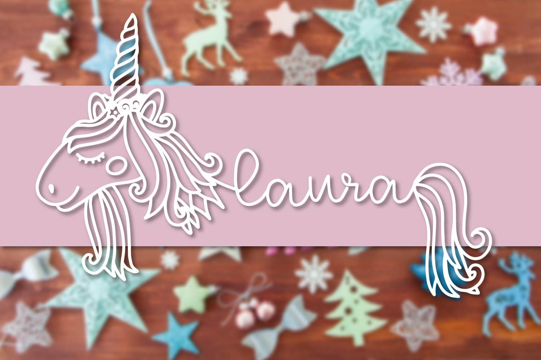 Unicorns - A Unicorn Name Maker Font example image 5