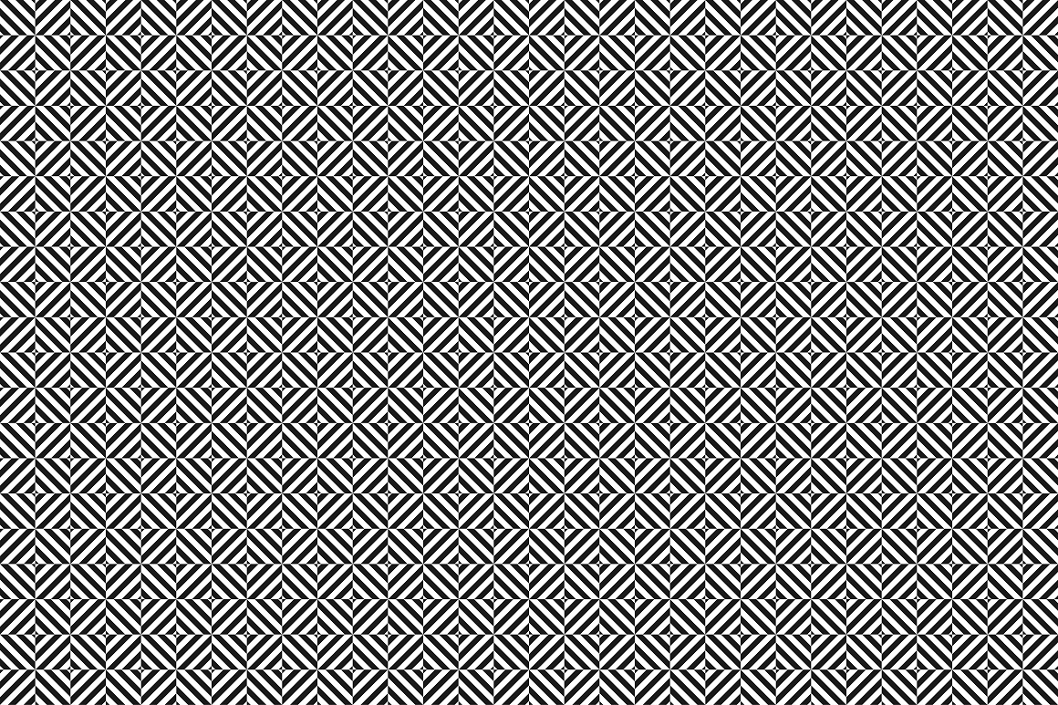 Geometric seamless modern patterns. example image 14