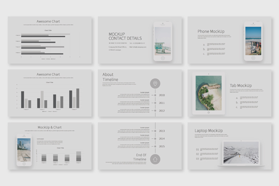 Shiroe Powerpoint Template example image 4