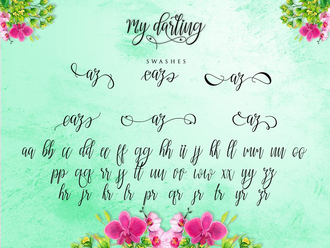 My Darling Script  Bonus example image 4
