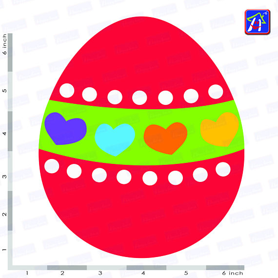 Easter bunny clip art - Personal and commercial use - Easter example image 8