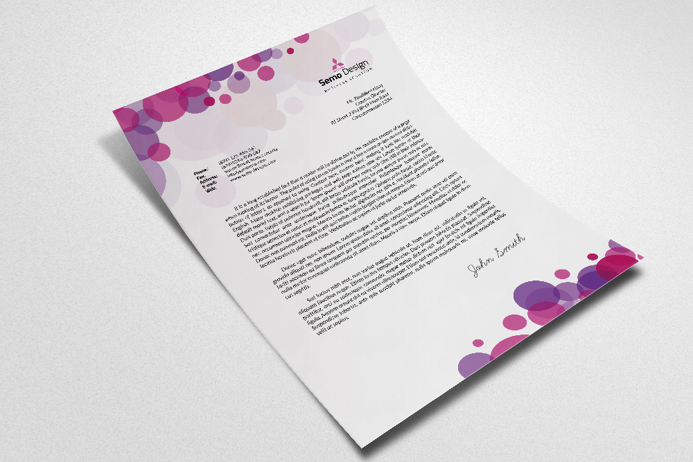 Business Letterheads example image 2