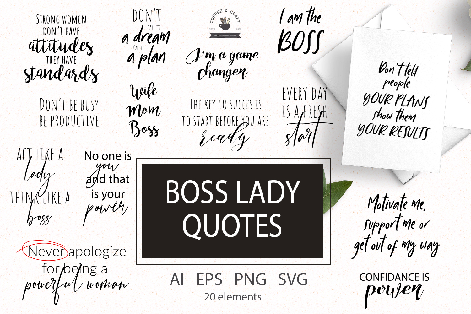 Boss lady quotes example image 1