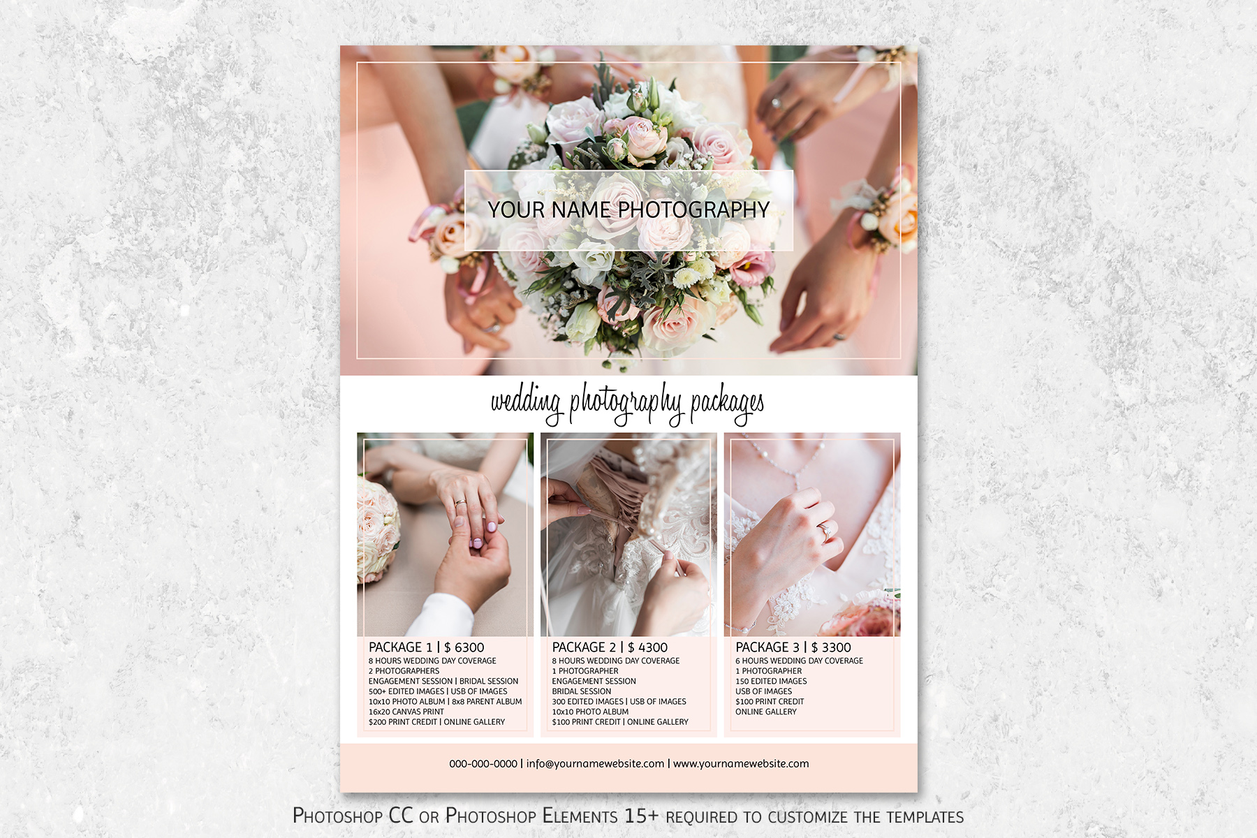 Wedding Photography Pricing Template example image 1
