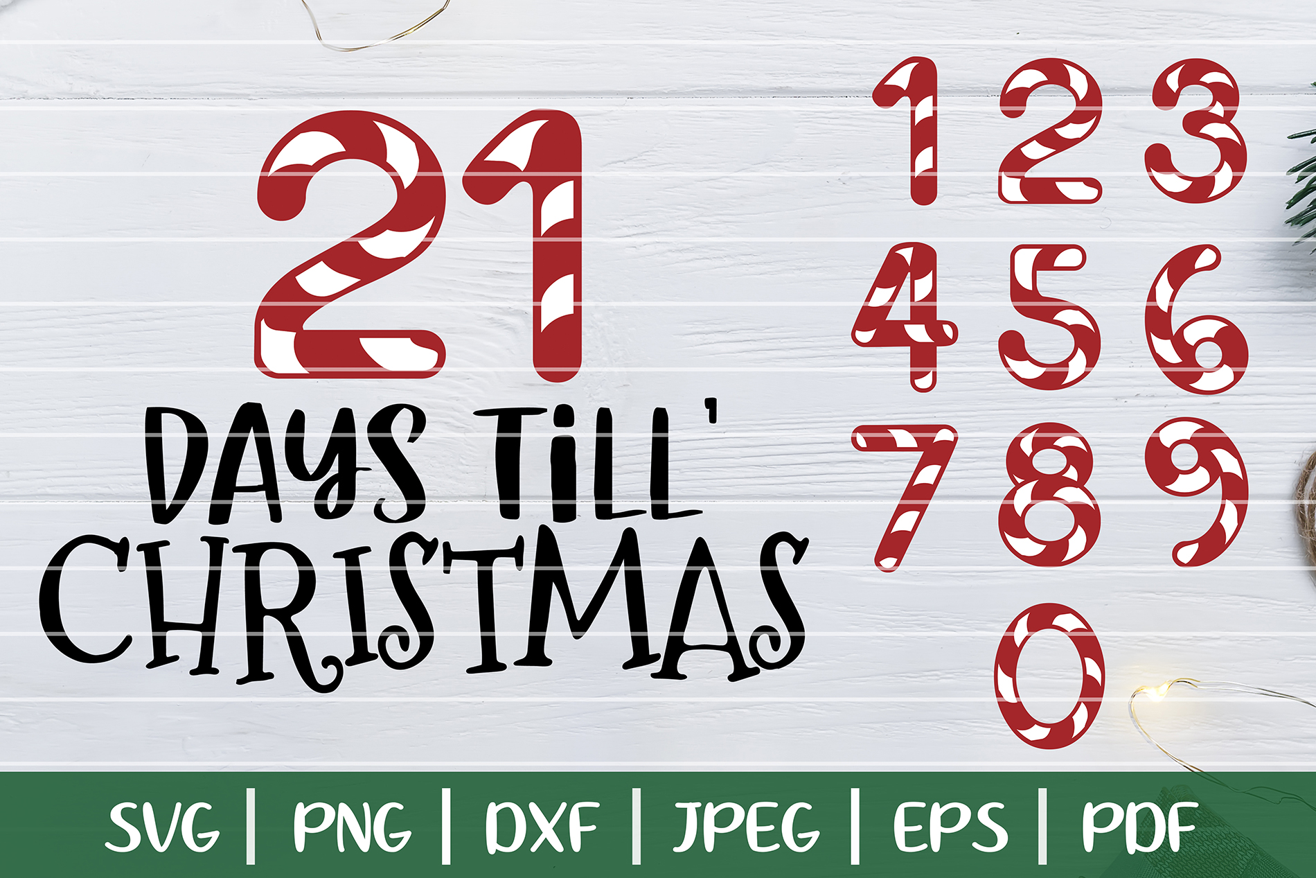 Until Christmas.Days Until Christmas Svg Christmas Countdown Svg