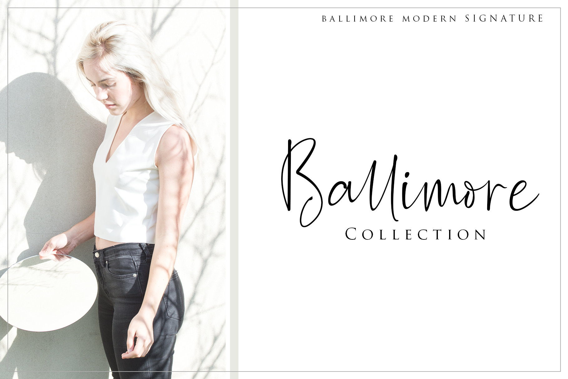 Ballimore - Modern Signature example image 7