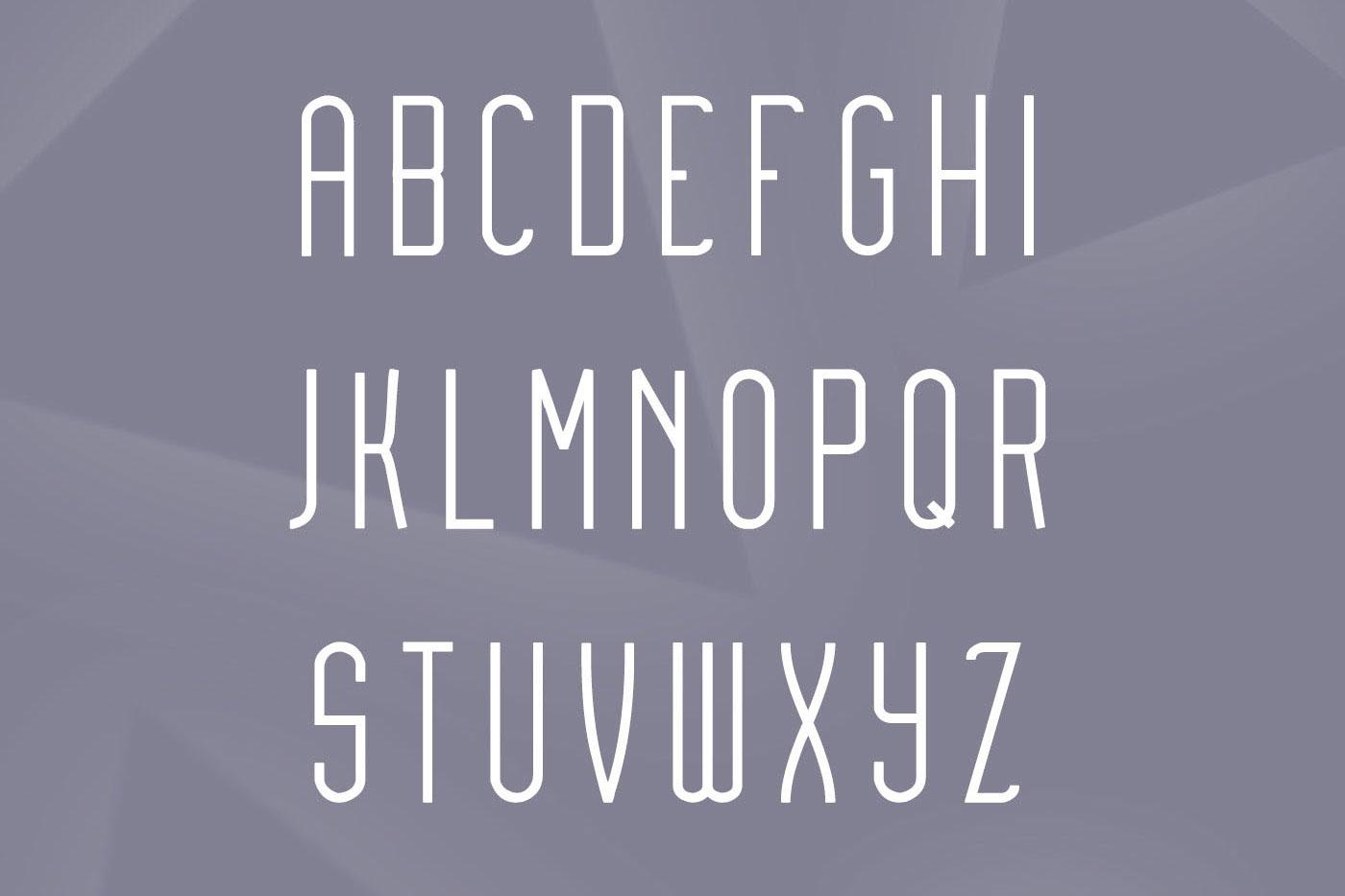 Audovera typeface example image 2