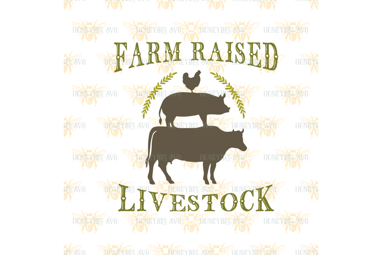Farm Raised Livestock svg example image 2
