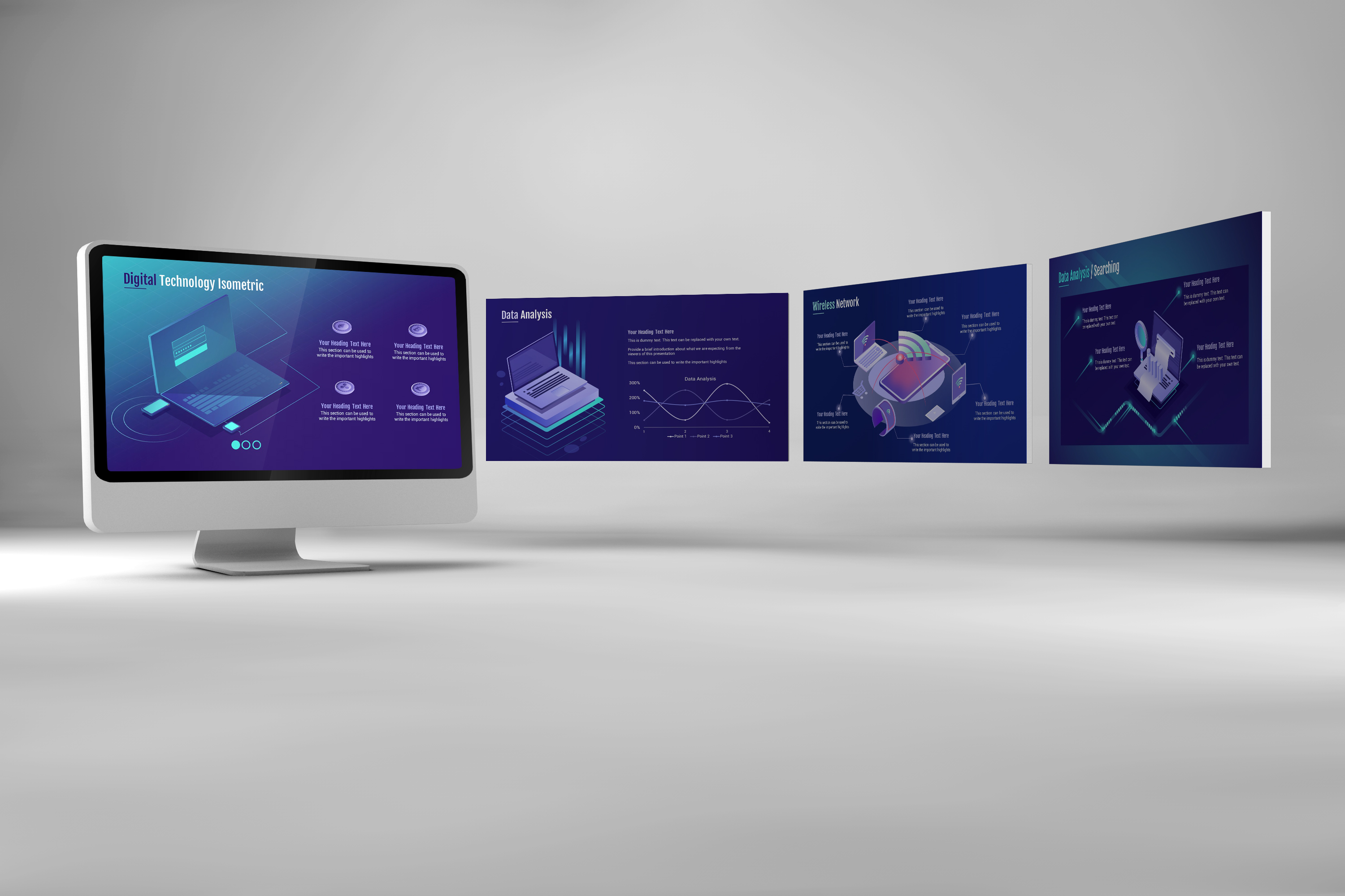 Smart Technology PowerPoint Template example image 8