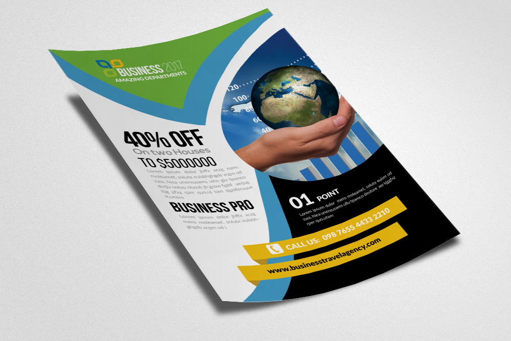 Global Business Flyer Template example image 3