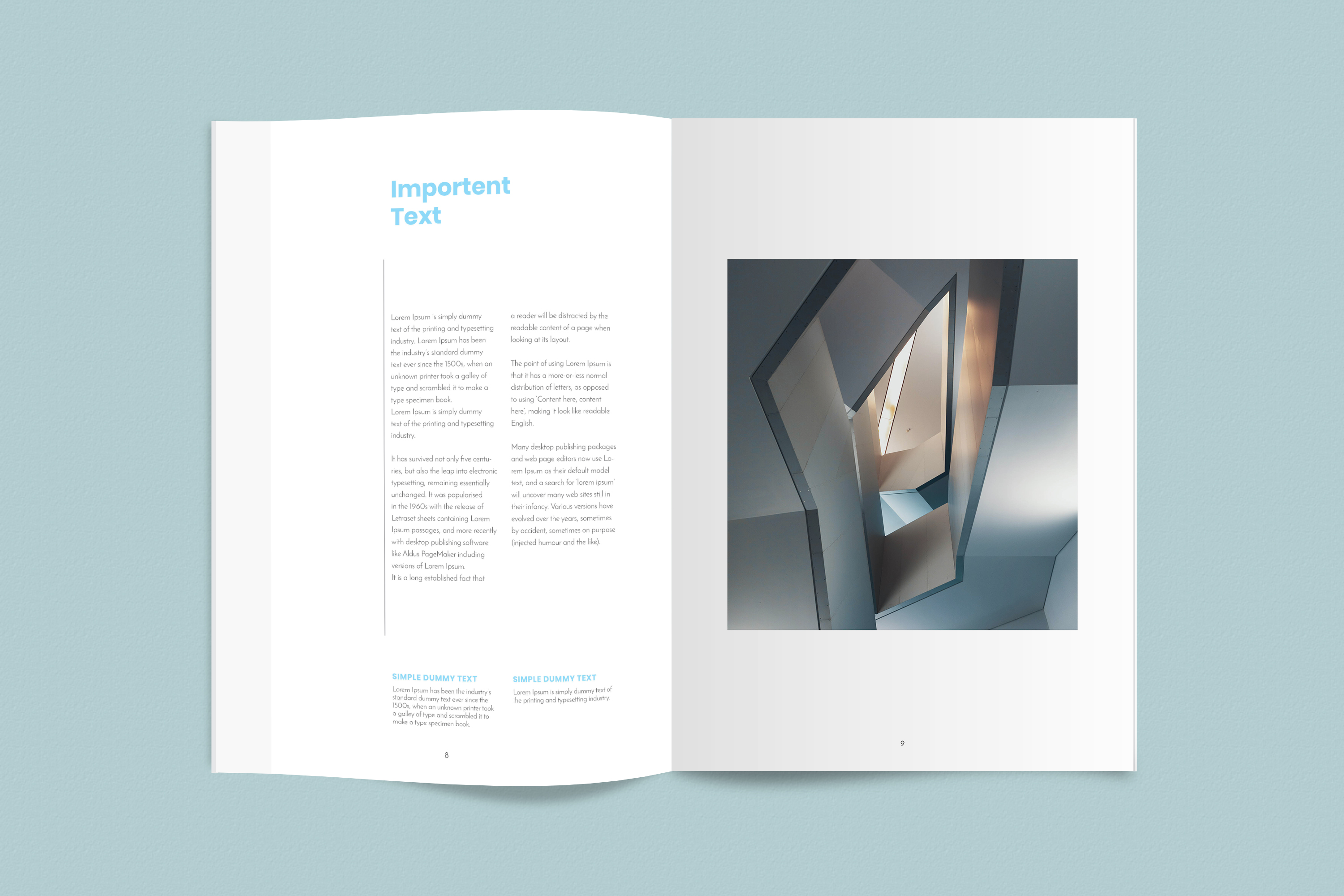 InDesign NANO Magazine Template example image 5
