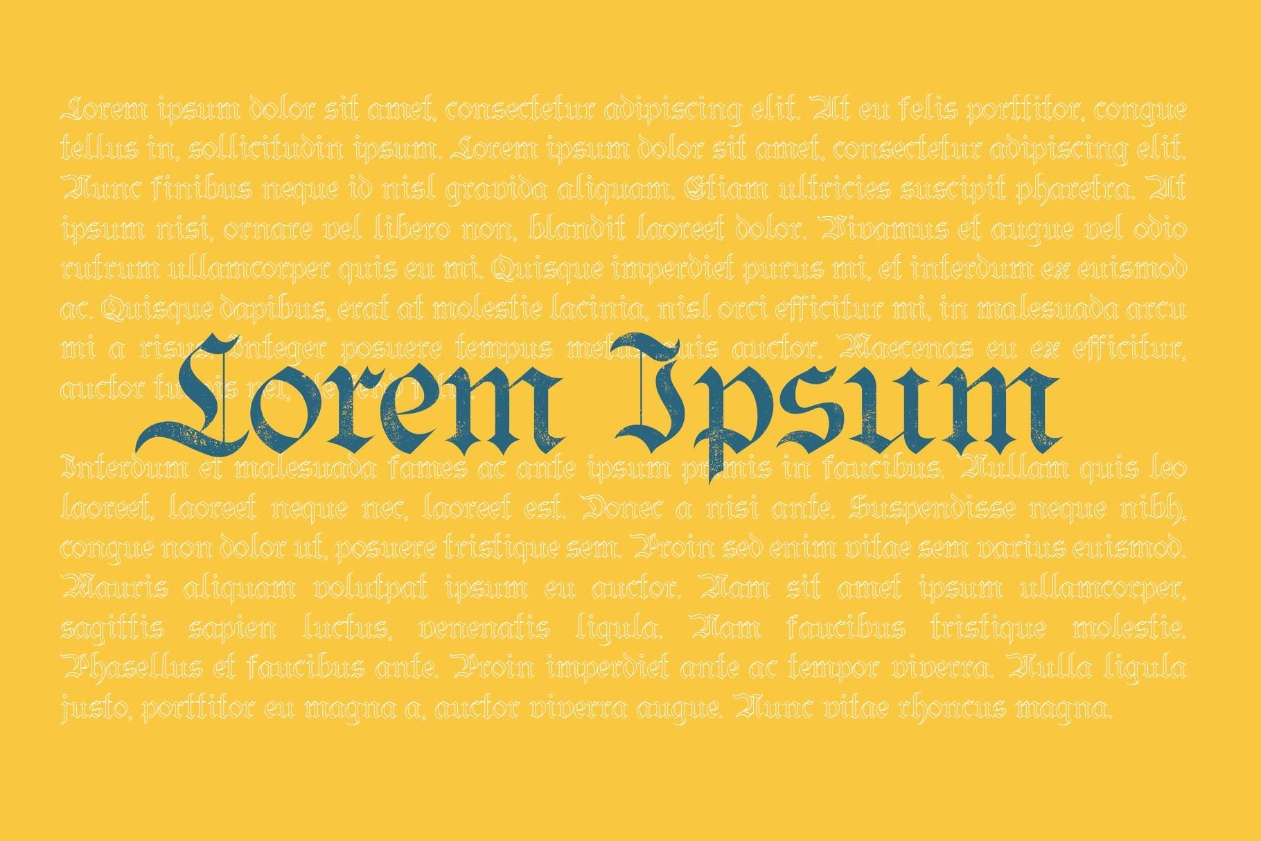 Bielefeld Typeface font example image 4