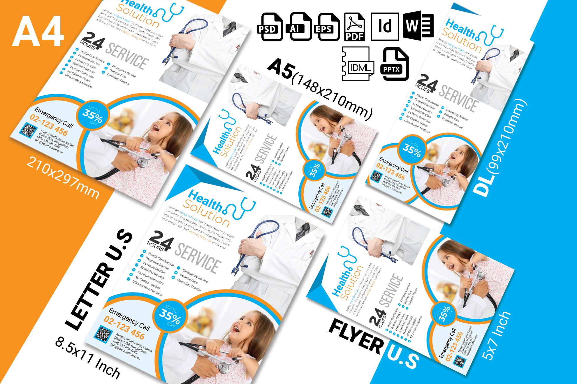 Doctor & Medical Flyer. Vol-03 example image 2