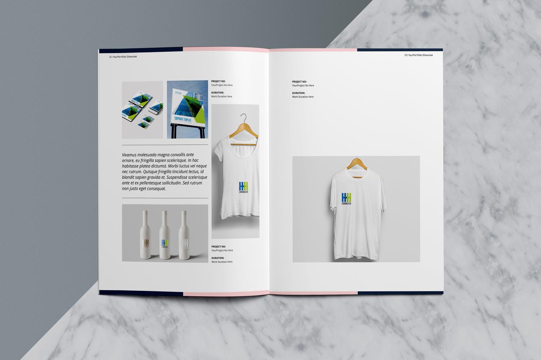 Designer Portfolio-48 Pages example image 9