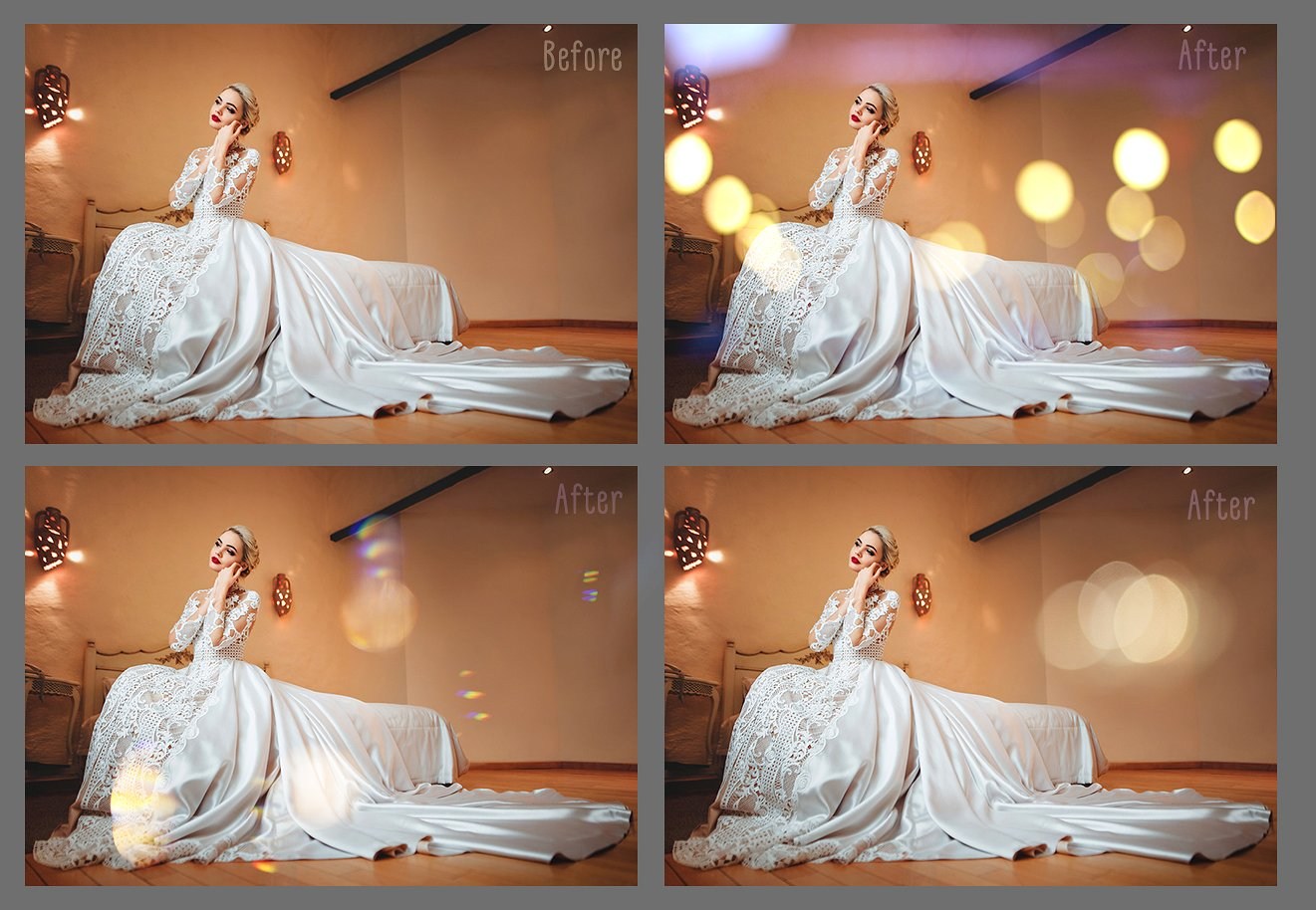 Wedding Art Bokeh Photo Overlays example image 5