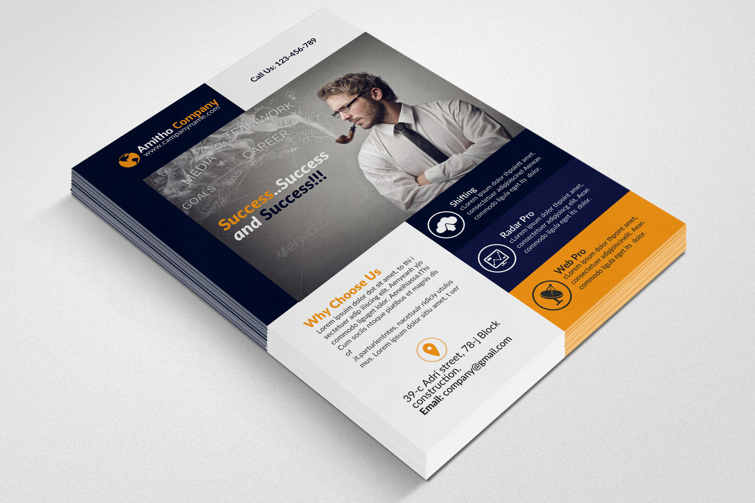 Business Corporate Agency Flyer example image 3