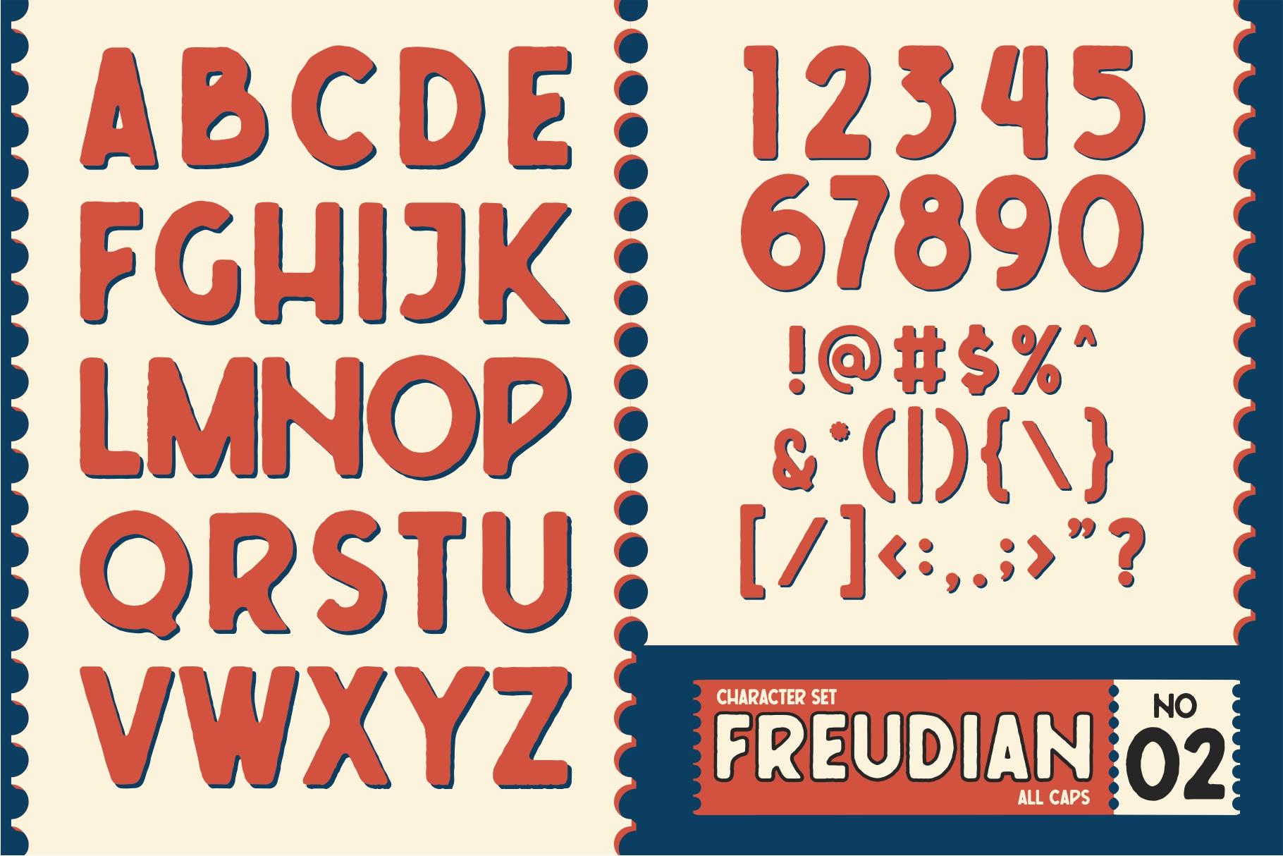 FREUDIAN TYPEFACE example image 4